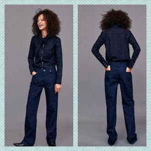 Zara The Heritage Straight Jeans